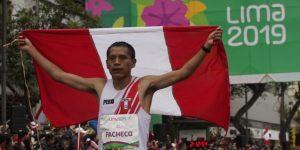 Tejeda y Pacheco, oro y récord en maratón, el comienzo soñado para Perú