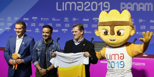 Luis Fonsi cantará un medley de sus temas en la inauguración de Lima 2019