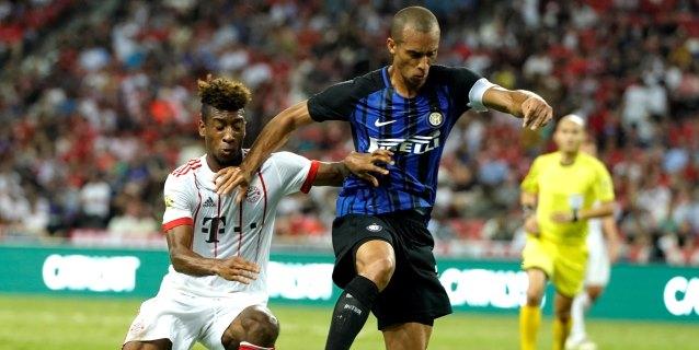 Joao Miranda deja el Inter y firma por el Jiangsu Suning