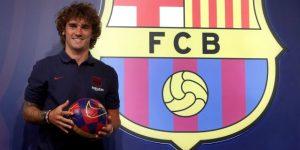 """""""El objetivo es ganarlo todo"""", avisa Griezmann a su llegada a Barcelona"""