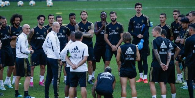 Madrid y Atlético calientan motores para su primer derbi fuera de Europa