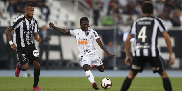 En duelo brasileño, Atlético Mineiro y Botafogo definen el pase a cuartos