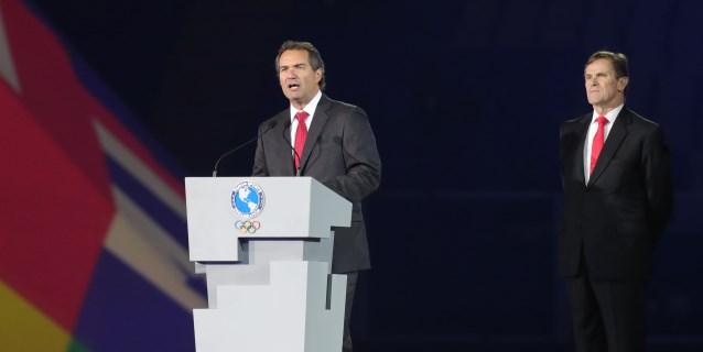 """""""Los felicito, lo lograron"""", dice el presidente de Panam Sports a los peruanos"""