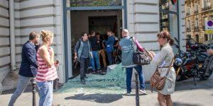Una treintena de detenidos en París en altercados tras la victoria de Argelia
