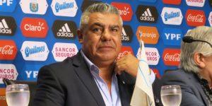 La Conmebol cesa a Claudio Tapia tras su crítica al arbitraje del Brasil-Argentina