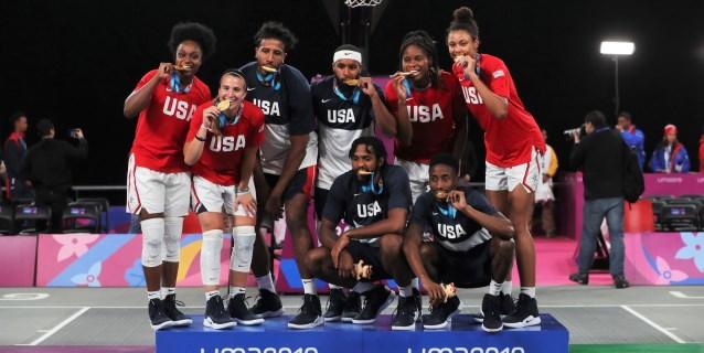 LIMA 2019>Jornada 3: Una tal Regina Jaquess y el 3×3 de baloncesto despegan a los EE.UU
