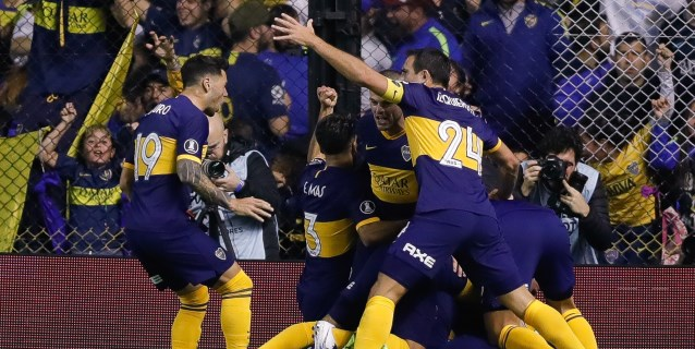 2-0. Boca superó al Athletico Paranaense y se cita con Liga de Quito