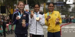 LIMA 2019 MARATÓN: Angie Orjuela, la maratonista que corre por dos, por tres