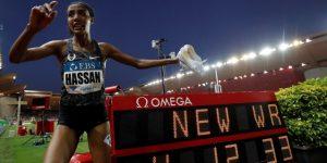 Holandesa Hassan establece un nuevo récord del mundo de la milla