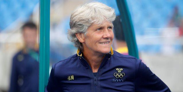 La sueca Pia Sundhage será la nueva entrenadora de la selección brasileña
