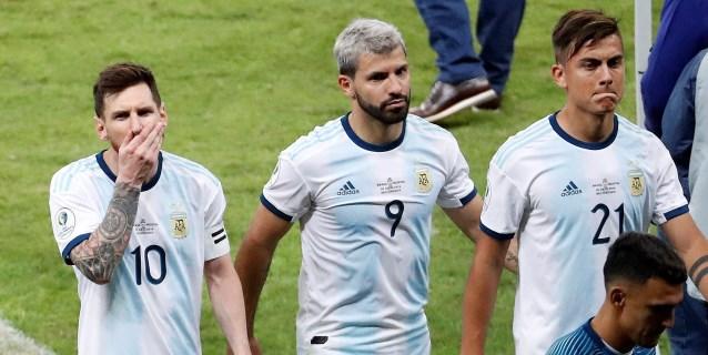 Argentina llega a Sao Paulo para la final de consolación rodeada de polémica