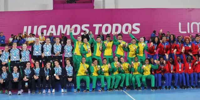 LIMA 2019 BALONMANO: 21-30. Brasil encadena el sexto oro consecutivo y sella su pasaje a Tokio 2020