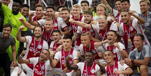 2-0. Un renovado Ajax conquista la Supercopa frente a un PSV inferior