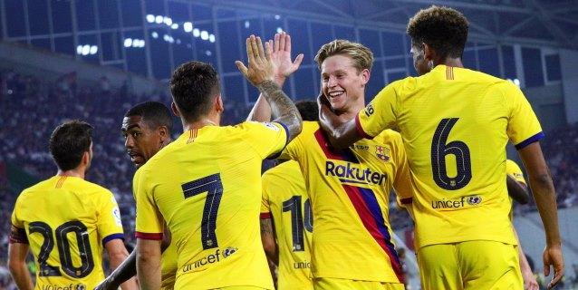 El Barça ya está en casa y preparará al completo su presentación en el Gamper