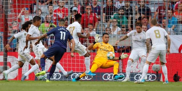 0-1. Keylor endulza otra derrota del Real Madrid