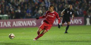0-1. Un agónico gol de Paolo Guerrero le da la victoria a Internacional