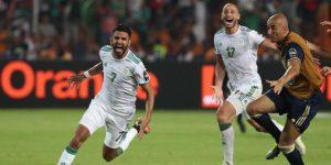 2-1. Mahrez mete a Argelia en la final en el último minuto