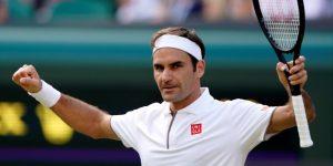 TENIS: Federer esquiva la trampa de Nishikori y suma 100 victorias en Wimbledon