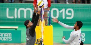 Entre niebla y frío, el vóley-playa dio inicio a los Juegos Panamericanos