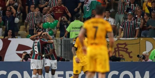 3-1. Fluminense avanza a cuartos tras vencer al Peñarol en el Maracaná