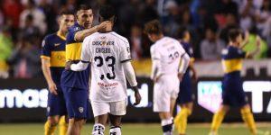 """Falta de """"hambre"""" y """"altura"""" dejó a Liga de Quito en manos de Boca Juniors"""
