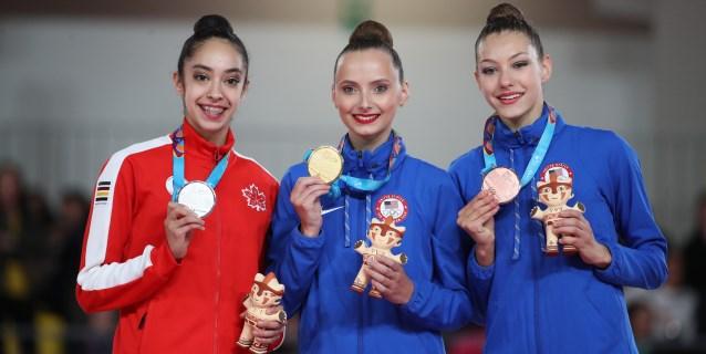 LIMA 2019 GIMNASIA: Feeley impide el pleno de Griskenas y Brasil se consuela con el oro en mixto