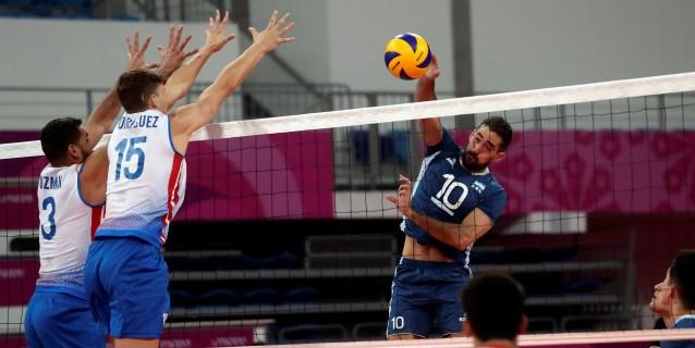 LIMA 2019: Argentina-Chile y Brasil-Cuba, en las semifinales del voleibol masculino