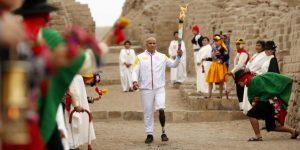 Encendida la antorcha de los Parapanamericanos Lima 2019 en un ritual frente al mar