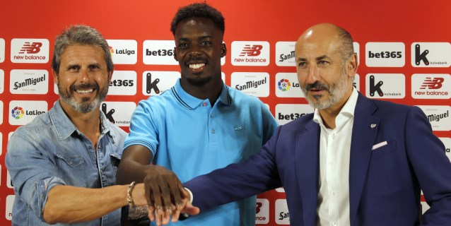 "Iñaki Williams quiere ser ""una referencia"" en el Athletic"