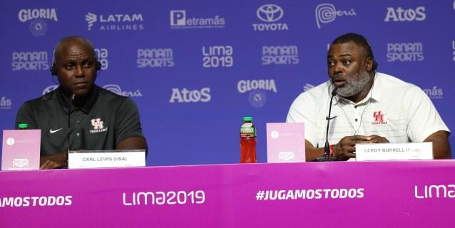 """LIMA 2019: """"EE.UU. no tiene un estadio de atletismo como el de Lima"""", dice Leroy Burrell"""