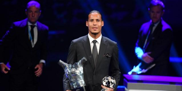 El holandés Van Dijk, elegido Jugador del Año de la UEFA