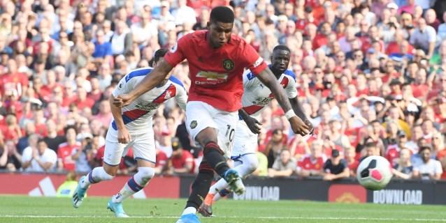 El United se estrella con un penalti fallado por Rashford