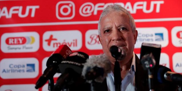 Américo Gallego hace su primera convocatoria como técnico de Panamá