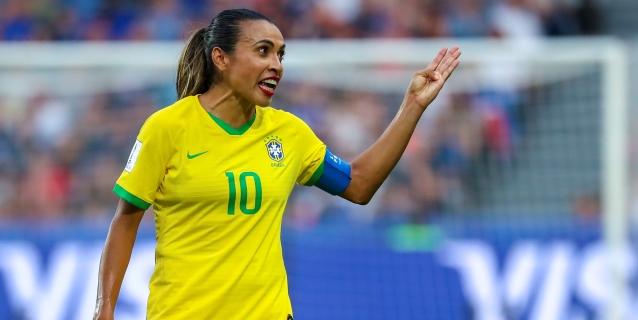 Marta sufre una lesión y se perderá un torneo amistoso con la selección brasileña