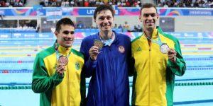 LIMA 2019 NATACIÓN: El estadounidense Abruzzo gana el oro seguido por brasileños en los 400m libre