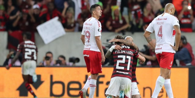2-0. Flamengo vence al Inter y se acerca a las semifinales de la Libertadores
