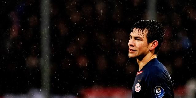 Lozano llega a Italia para firmar con el Nápoles