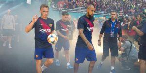 2-1. El Barcelona se impone con esfuerzo al Nápoles en un amistoso de Miami