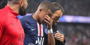 Kylian Mbappe y Edinson Cavani se lesionan ante el Toulouse