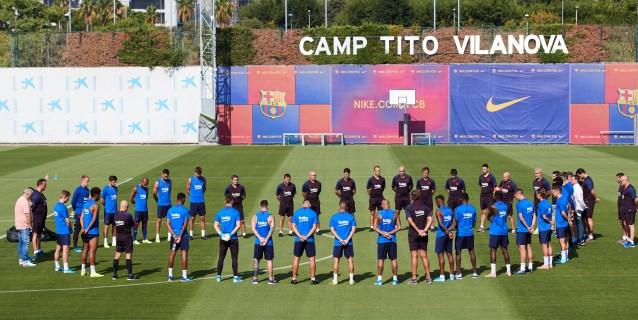 El Barça guarda minuto de silencio por la muerte de la hija de Luis Enrique