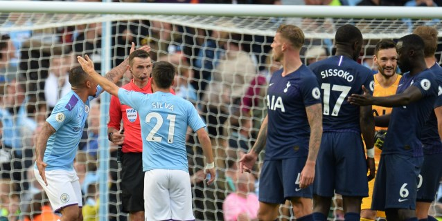 El City se estrella ante el Tottenham