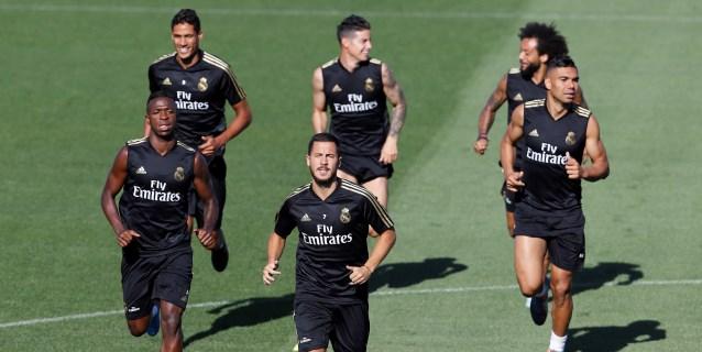 James titular con el Real Madrid; Pedro Porro debuta con el Valladolid