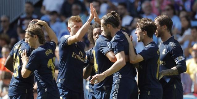 1-3. La pegada del Real Madrid acaba con el Celta