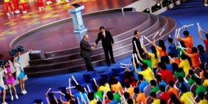 Xi Jinping inaugura el Mundial en un espectáculo en el Cubo de Agua de Pekín