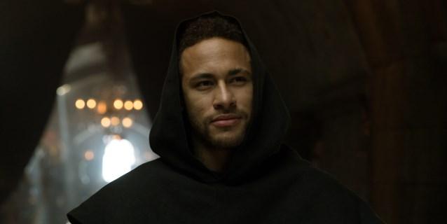 """Neymar, un monje brasileño para """"La casa de papel"""""""
