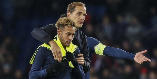 """Tuchel: """"Neymar seguirá sin jugar con el PSG mientras no se aclare su futuro"""""""