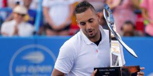 TENIS: El australiano Kyrgios gana el Citi Open al ruso Medvedev, en una final apretada