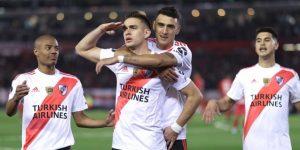 2-0. Dos penaltis le dan el triunfo y la ventaja a River ante Cerro Porteño