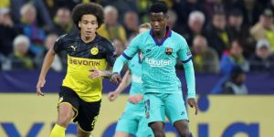 Ansu, debutante más joven del Barcelona en la Liga de Campeones