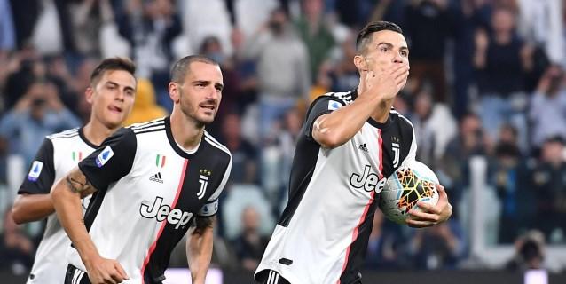 Cristiano devuelve el triunfo a un gris Juventus